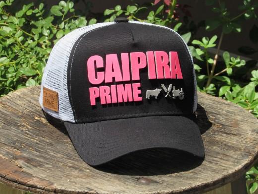Caipira Prime Pink com Preto