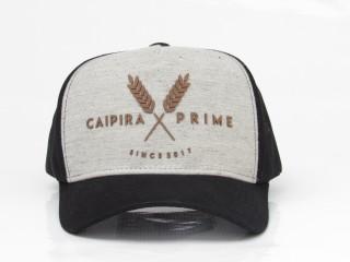 Caipira Prime Preto com Cinza